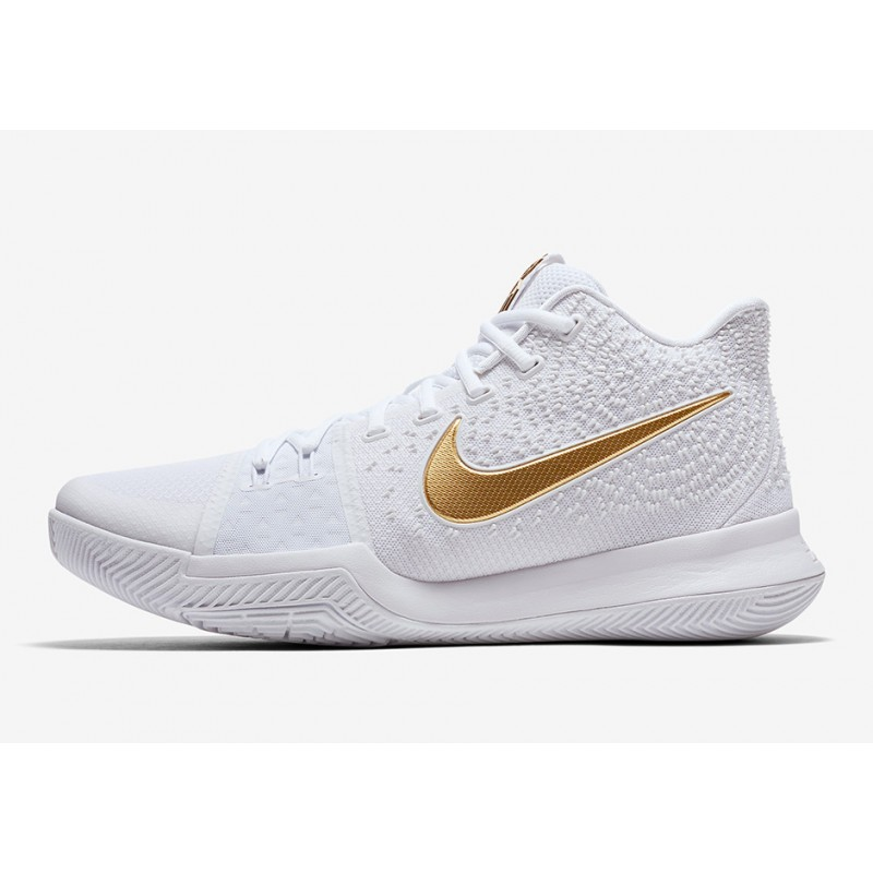 """NIKE KYRIE 3 """"FINALS"""" White 852396-902"""