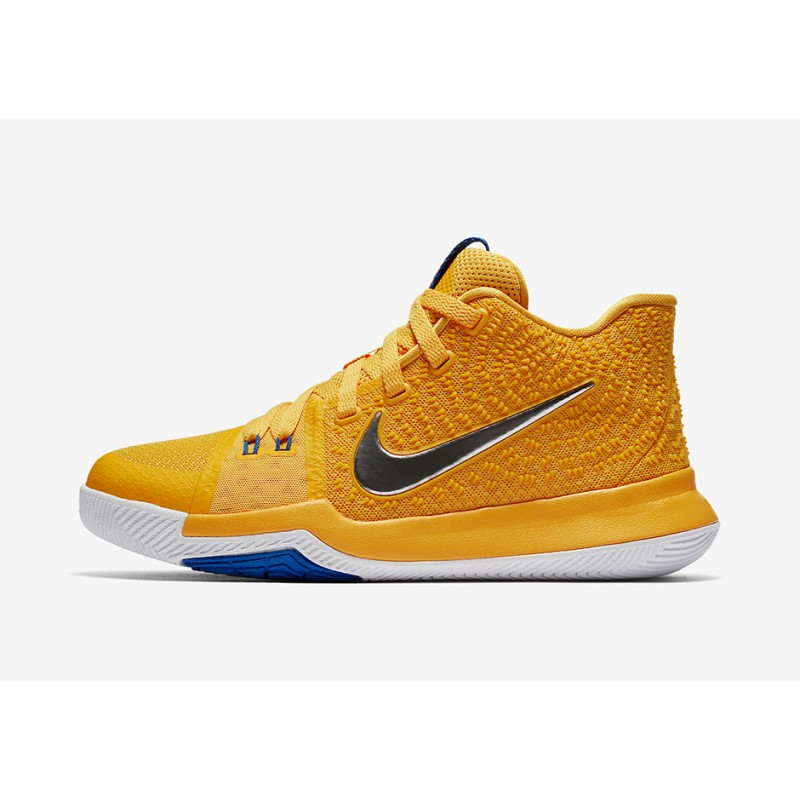 """NIKE KYRIE 3 """"MAC AND CHEESE"""" Gold 859466-791"""
