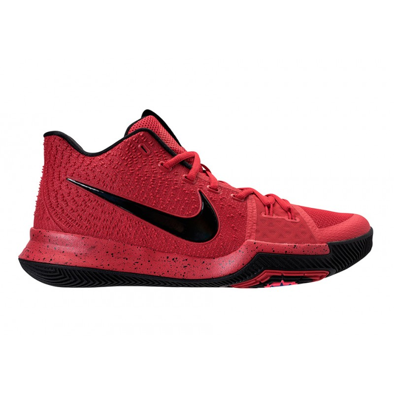 """NIKE KYRIE 3 """"CANDY APPLE"""" University Red/Black-Team Red 852395-600"""